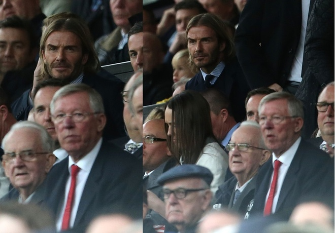Beckham tro lai Old Trafford voi dien mao than thuoc hinh anh 4