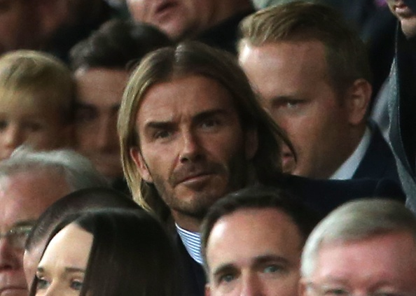 Beckham tro lai Old Trafford voi dien mao than thuoc hinh anh 2
