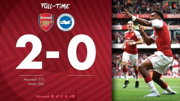 Arsenal vs Brighton (2-0): Sanchez kien tao dang cap hinh anh 31