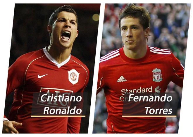 So sanh doi hinh tot nhat the ky 21 cua Man Utd va Liverpool hinh anh
