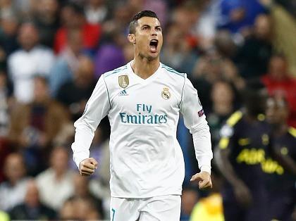 Ronaldo ghi ban, Real gianh lai 1 diem trong cuoc tiep don Tottenham hinh anh