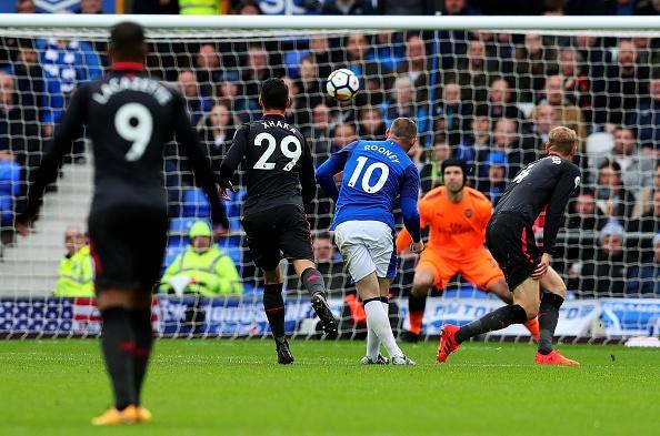 Everton 2-5 Arsenal: Mon qua sinh nhat y nghia cho Arsene Wenger hinh anh 14