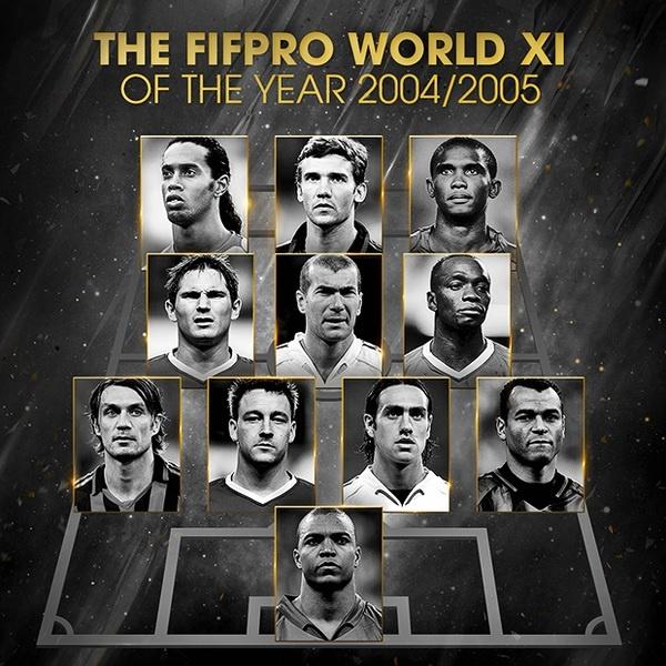 Hon 1 thap ky Ronaldo, Messi thong tri doi hinh hay nhat nam cua FIFA hinh anh 2