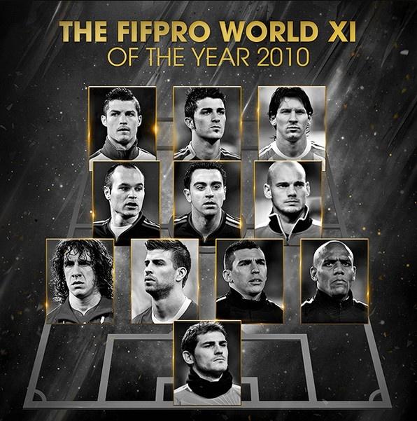 Hon 1 thap ky Ronaldo, Messi thong tri doi hinh hay nhat nam cua FIFA hinh anh 7