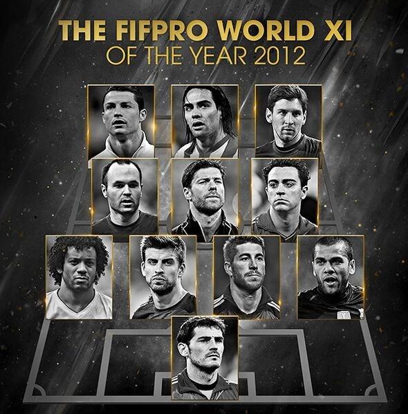 Hon 1 thap ky Ronaldo, Messi thong tri doi hinh hay nhat nam cua FIFA hinh anh 9