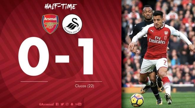 Arsenal 2-1 Swansea: 'Xe tang' khai hoa hinh anh 13