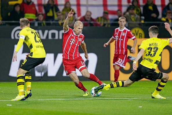 Tiep mach thang hoa, Bayern nhan chim Dortmund tren san khach hinh anh 1
