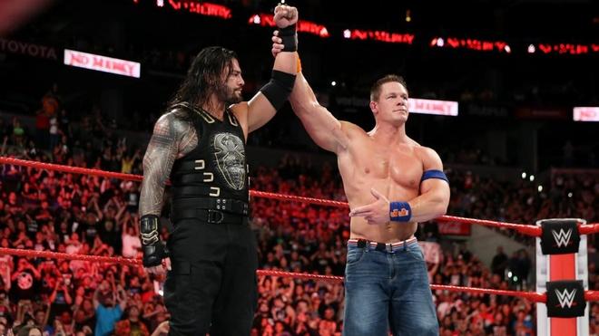 Huyen thoai John Cena bat ngo tro lai san dau WWE hinh anh 2