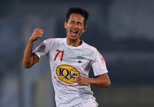 CLB Hai Phong 1-2 HAGL: Van Toan ghi ban dau tien sau 24 tran hinh anh