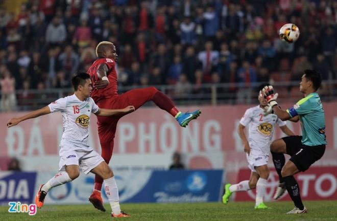 CLB Hai Phong 1-2 HAGL: Van Toan ghi ban dau tien sau 24 tran hinh anh 10