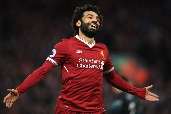 Salah thang hoa, Liverpool ap sat top 4 hinh anh