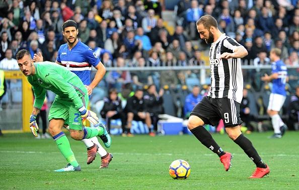 Thua soc Sampdoria, Juventus bi Napoli cat duoi tren BXH Serie A hinh anh 2