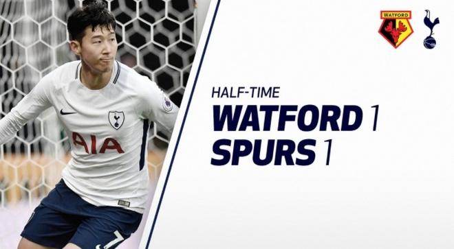 Watford 1-1 Tottenham: Tam the do tai hai hinh anh 12
