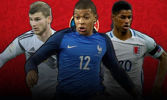 10 sao tre hua hen khuay dao World Cup 2018 hinh anh