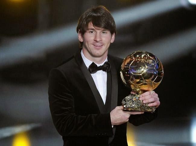 thong tri Qua bong vang cua Ronaldo,  Messi anh 3