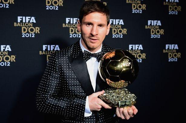 thong tri Qua bong vang cua Ronaldo,  Messi anh 5