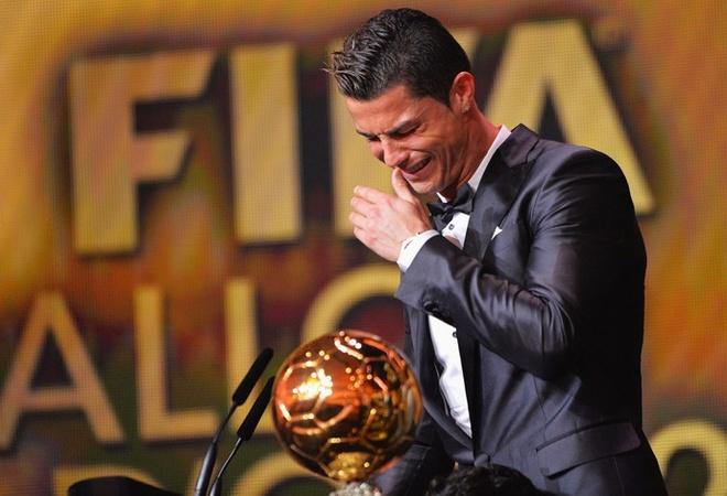 thong tri Qua bong vang cua Ronaldo,  Messi anh 6