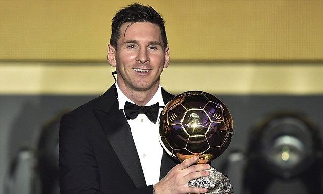 thong tri Qua bong vang cua Ronaldo,  Messi anh 8