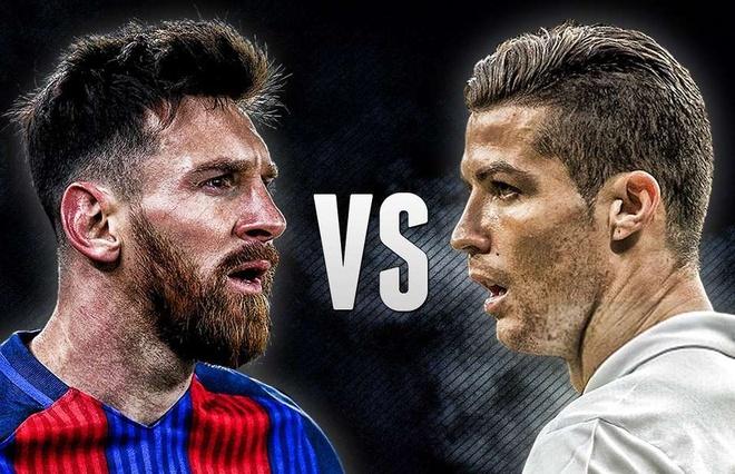 Man trinh dien cua Ronaldo va Messi trong nam 2017 hinh anh