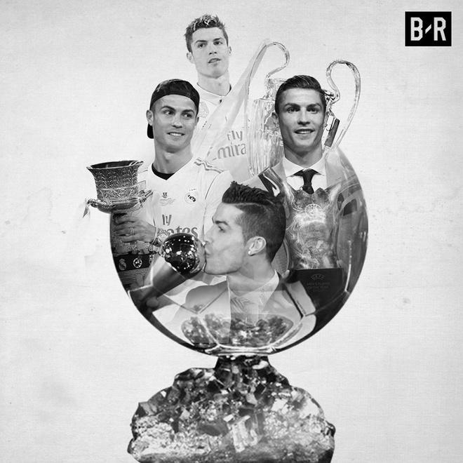 Ronaldo thach thuc Messi cho Qua bong vang 2018 anh 3