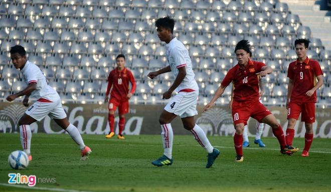 U23 Viet Nam 4-0 U23 Myanmar: Quang Hai lap cu dup dang cap hinh anh 19