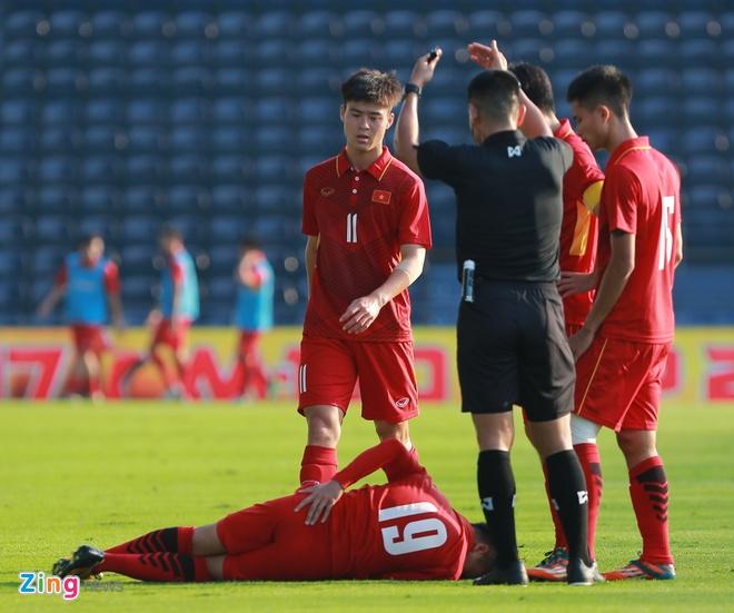U23 Viet Nam 4-0 U23 Myanmar: Quang Hai lap cu dup dang cap hinh anh 15