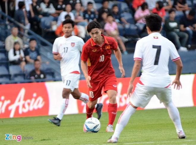 U23 Viet Nam 4-0 U23 Myanmar: Quang Hai lap cu dup dang cap hinh anh 22