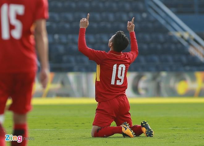 U23 Viet Nam 4-0 U23 Myanmar: Quang Hai lap cu dup dang cap hinh anh 14
