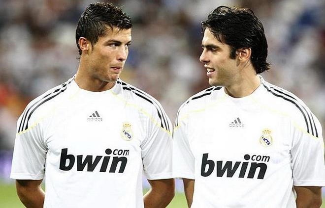 Ronaldo, Ro beo va doi hinh dong doi vi dai nhat cua Kaka hinh anh
