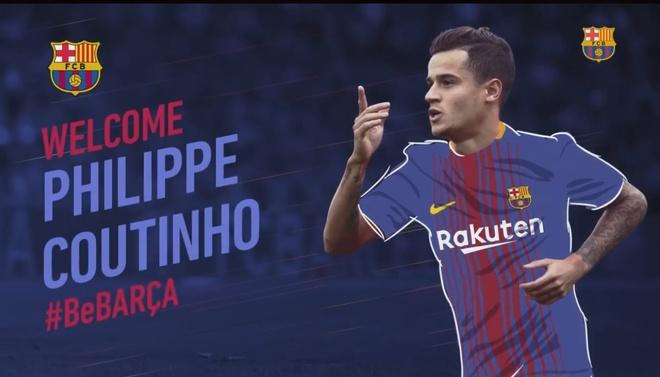 Barca chinh thuc so huu Coutinho voi gia 160 trieu euro hinh anh 1