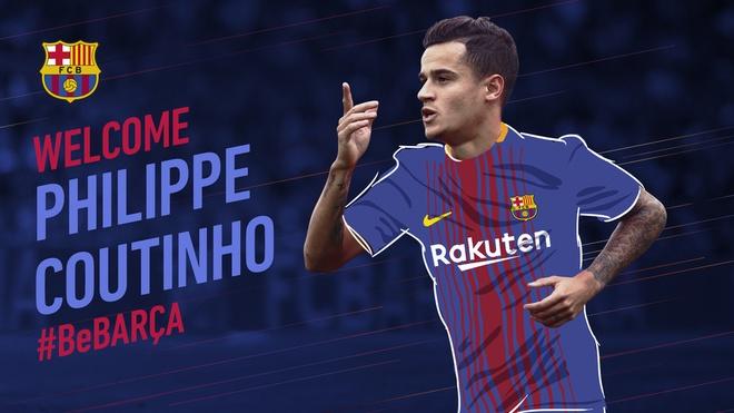 Vi sao Barca quyet tam so huu Coutinho ngay trong thang 1? hinh anh 1