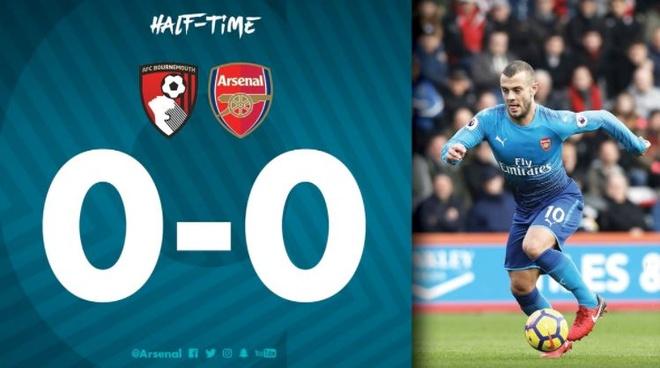 Vang Sanchez, Oezil, Arsenal thua nguoc Bournemouth 1-2 hinh anh 20