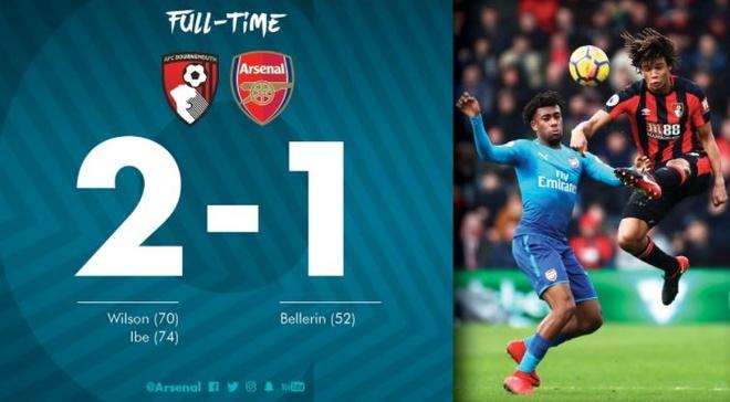 Vang Sanchez, Oezil, Arsenal thua nguoc Bournemouth 1-2 hinh anh 28