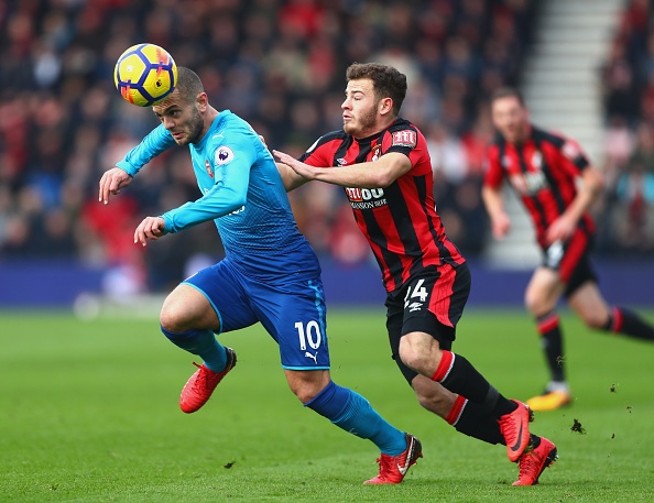 Vang Sanchez, Oezil, Arsenal thua nguoc Bournemouth 1-2 hinh anh 15