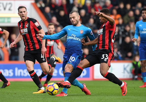 Vang Sanchez, Oezil, Arsenal thua nguoc Bournemouth 1-2 hinh anh 27