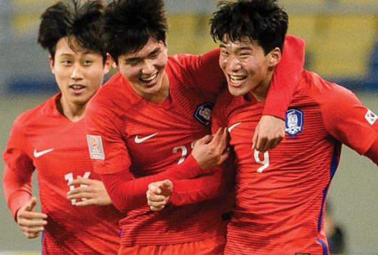 Thua Han Quoc, U23 Australia roi giai chau A hinh anh 1