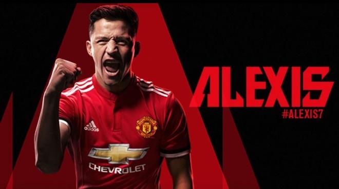 Man Utd chinh thuc so huu Alexis Sanchez hinh anh