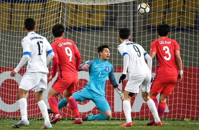U23 Uzbekistan vs U23 Han Quoc anh 1