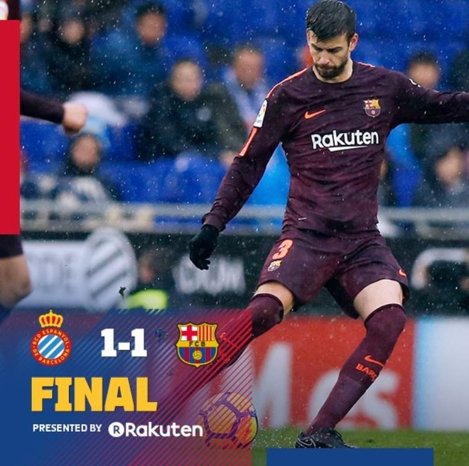 Coutinho im tieng, Barca dut mach thang tai La Liga hinh anh 14