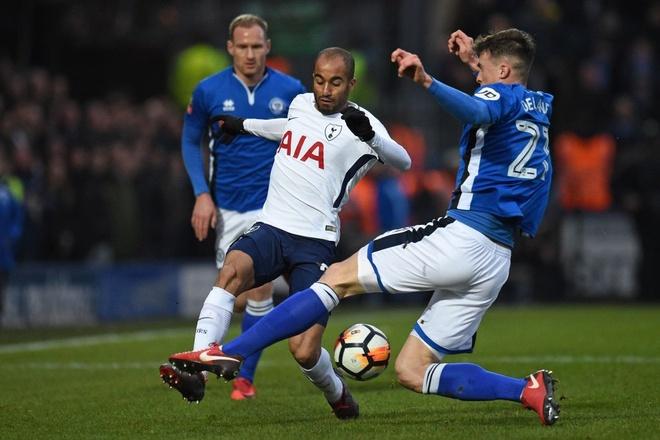Harry Kane lap cong, Tottenham van phai da lai FA Cup voi doi hang 2 hinh anh 2