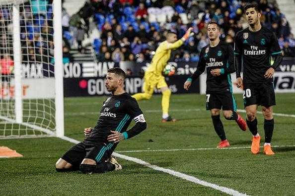 Ramos ghi ban, lap ky luc the phat trong tran thang Leganes hinh anh 8