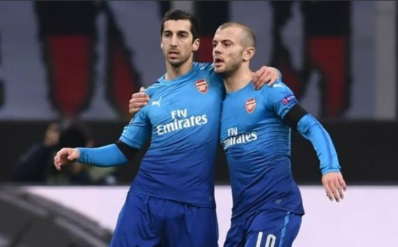 Mkhitaryan toa sang, Arsenal nhan chim Milan tren san khach hinh anh