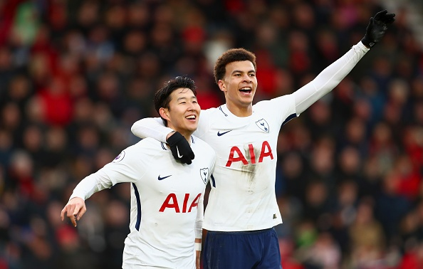 'Sonaldo' lap cu dup giup Tottenham thang nguoc Bournemouth 4-1 hinh anh 2