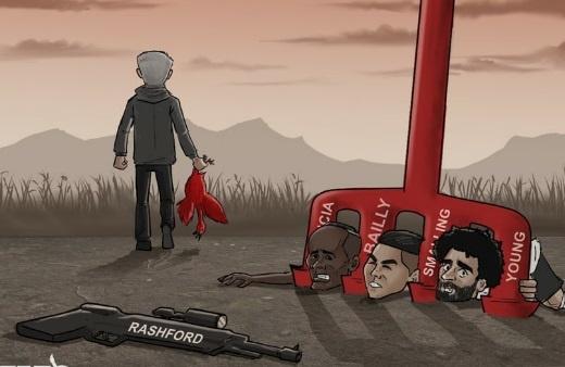Hi hoa Salah, Mane bat luc truoc dinh ba phong ngu cua Mourinho hinh anh