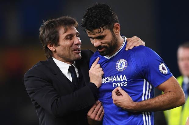 Co vu Chelsea, Diego Costa khong quen tra thu Conte hinh anh