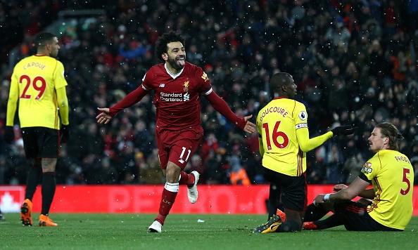 Lap poker vao luoi Watford, Salah ghi danh lich su Premier League hinh anh 7
