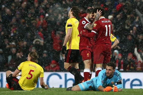 Lap poker vao luoi Watford, Salah ghi danh lich su Premier League hinh anh 10