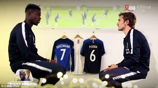 Griezmann: 'Dau cu than voi Pogba la phai den Man Utd' hinh anh 1