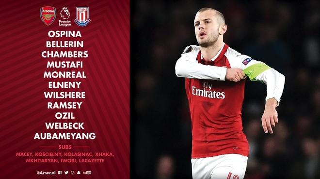 Arsenal 3-0 Stoke City: Aubameyang lap cu dup hinh anh 2