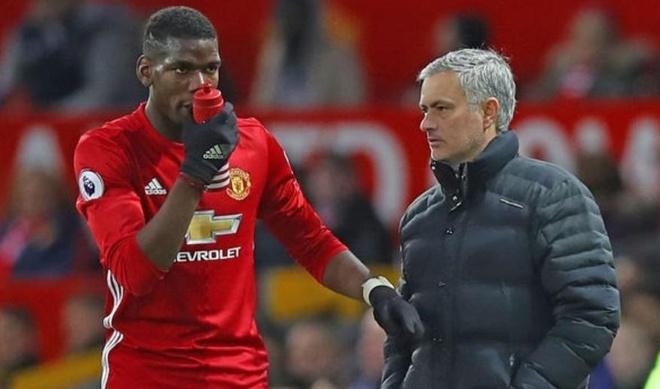 Pogba len tieng ve moi quan he voi Mourinho hinh anh